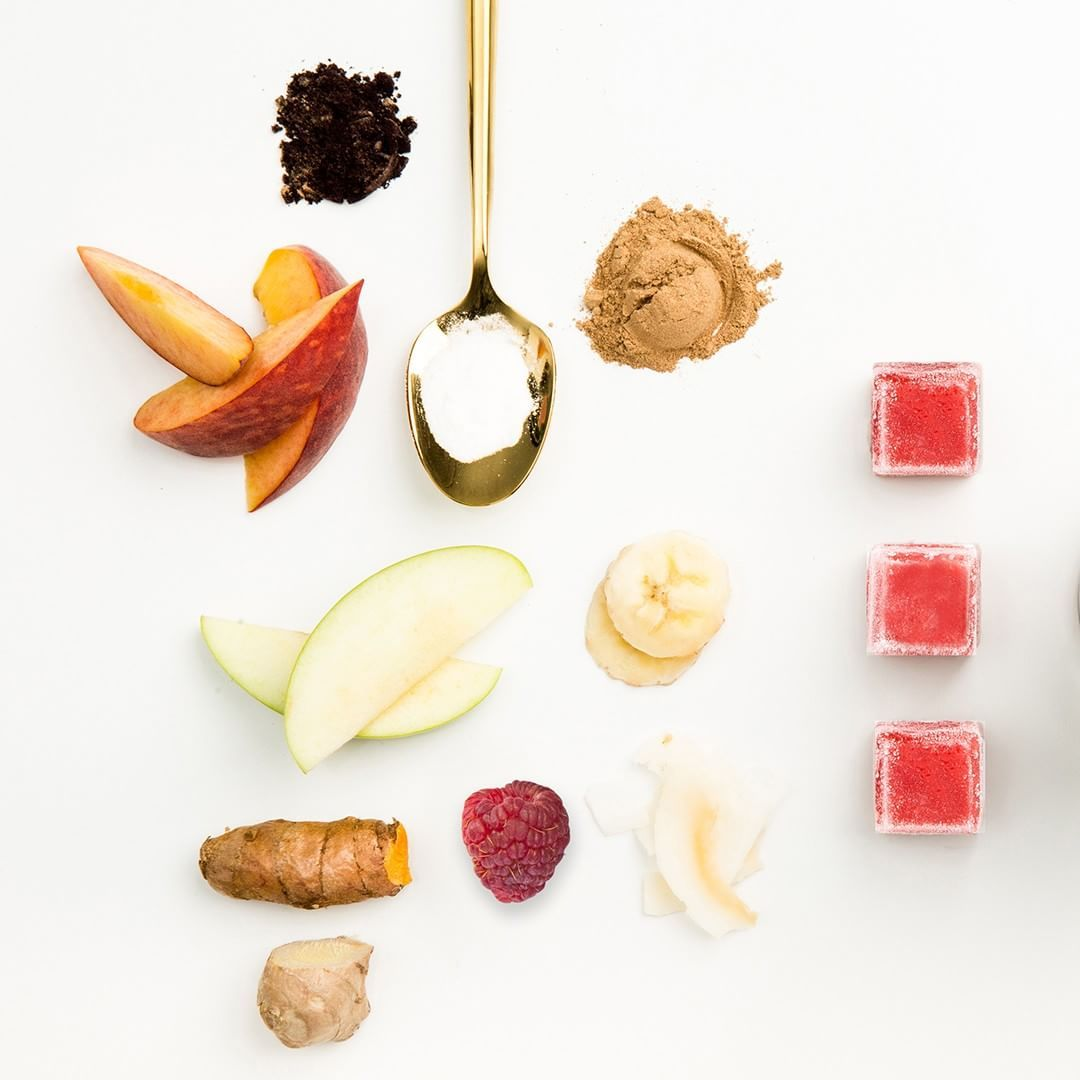 Live pure superfood smoothies smoothie bowl cubes