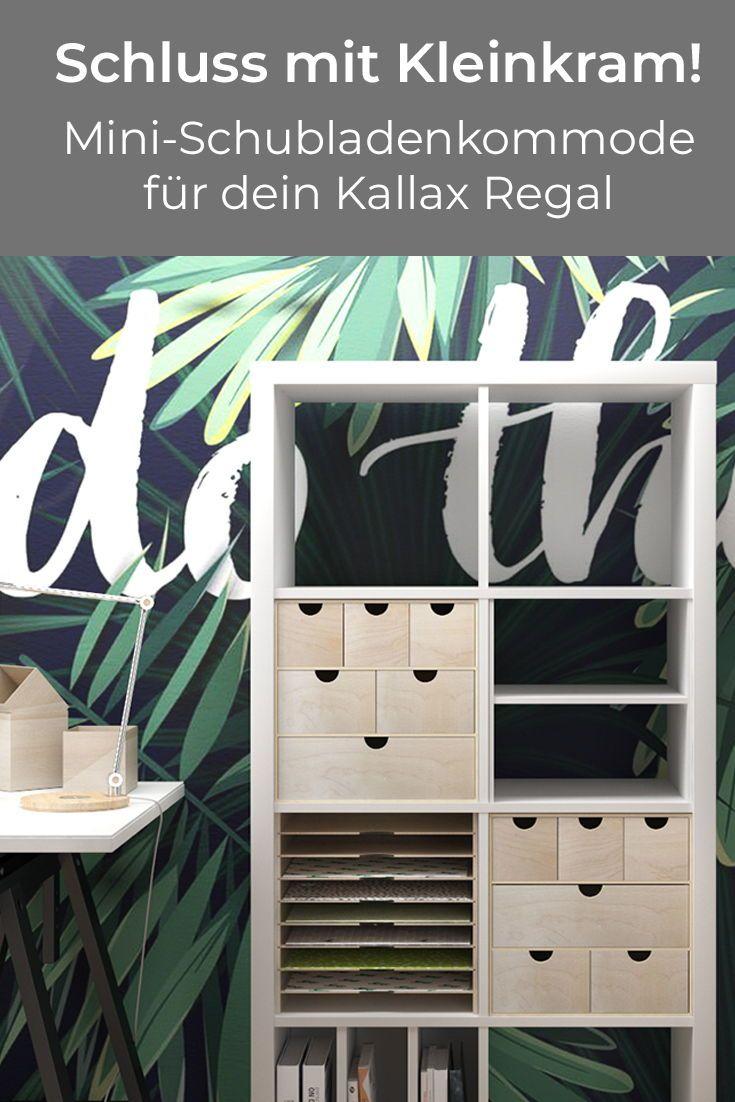 Photo of Kommode til Ikea Kallax hylle