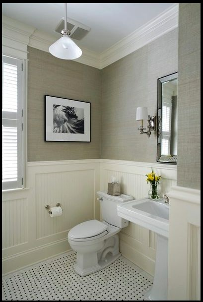 Pin By Shawn M On For The Home Powder Room Design Bathroom