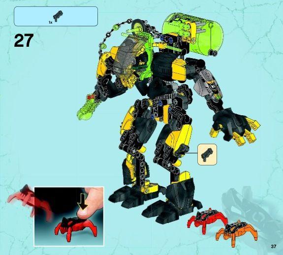 Hero Factory - EVO XL MACHINE [Lego 44022] | Lego Instructions ...