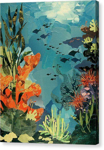 Underwater by Robin Birrell in 2020 | Underwater painting ...