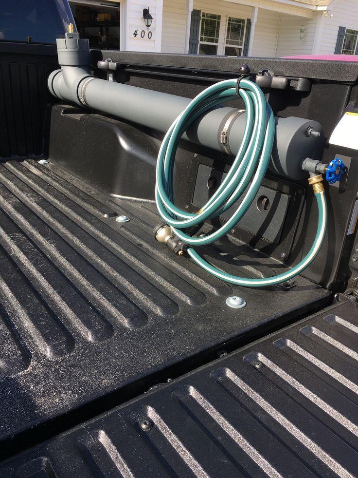 Truck bed water tank So smart ! net accessories truck
