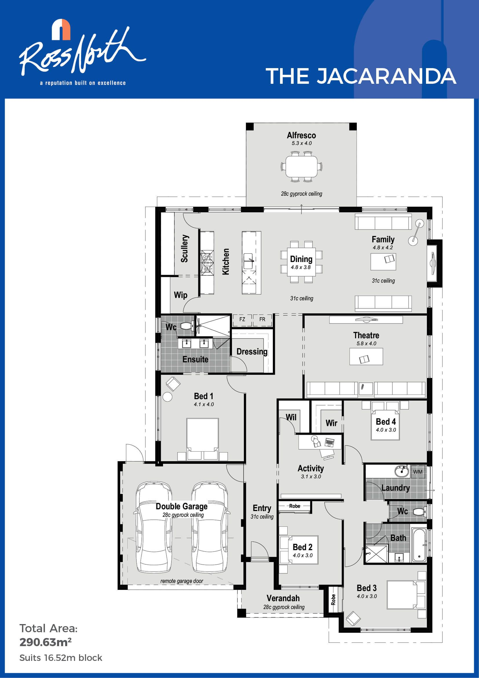 A Stunning Rear Living Family Design That Includes All The Extra Features You Re Looking Fo 4 Bedroom House Plans New House Plans Multigenerational House Plans