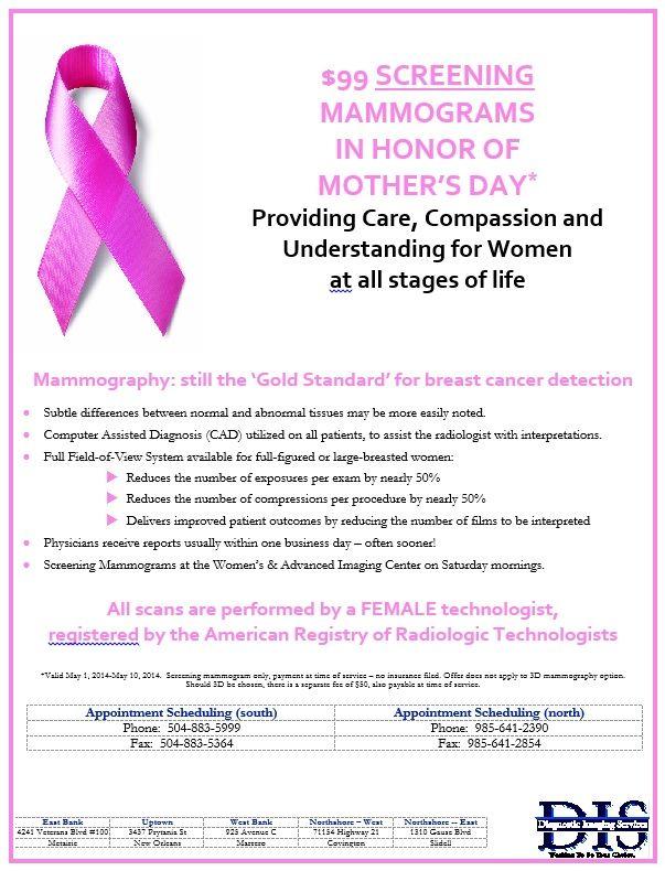 A mammogram for Motheru0027s Day Mammo\/Pink Ribbon Pinterest - mammography resume