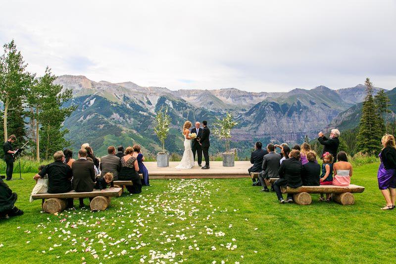 Overview Of The Telluride Wedding Venue San Sophia Overlook