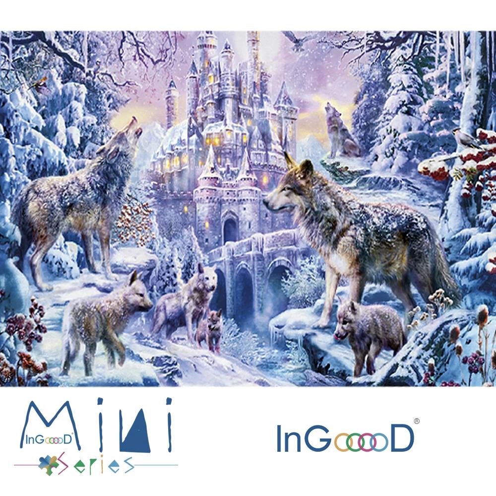 InGooooD World Mini Jigsaw Puzzle 1000 Pieces For Adults