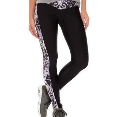 Designer Print Grey Leg Warmer Leggings