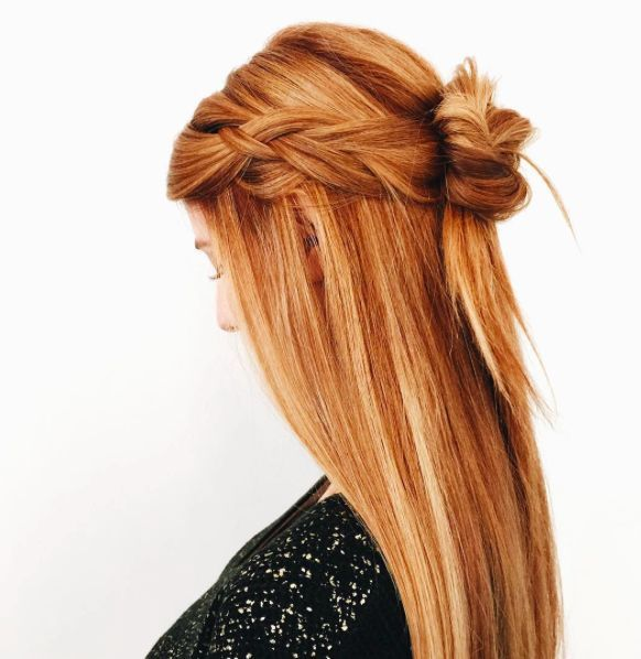 Perfect strawberry blonde copper red inspiration from our perfect strawberry blonde copper red inspiration from our friends at juut salon arizona looking for hair extensions to refresh your hair look pmusecretfo Choice Image