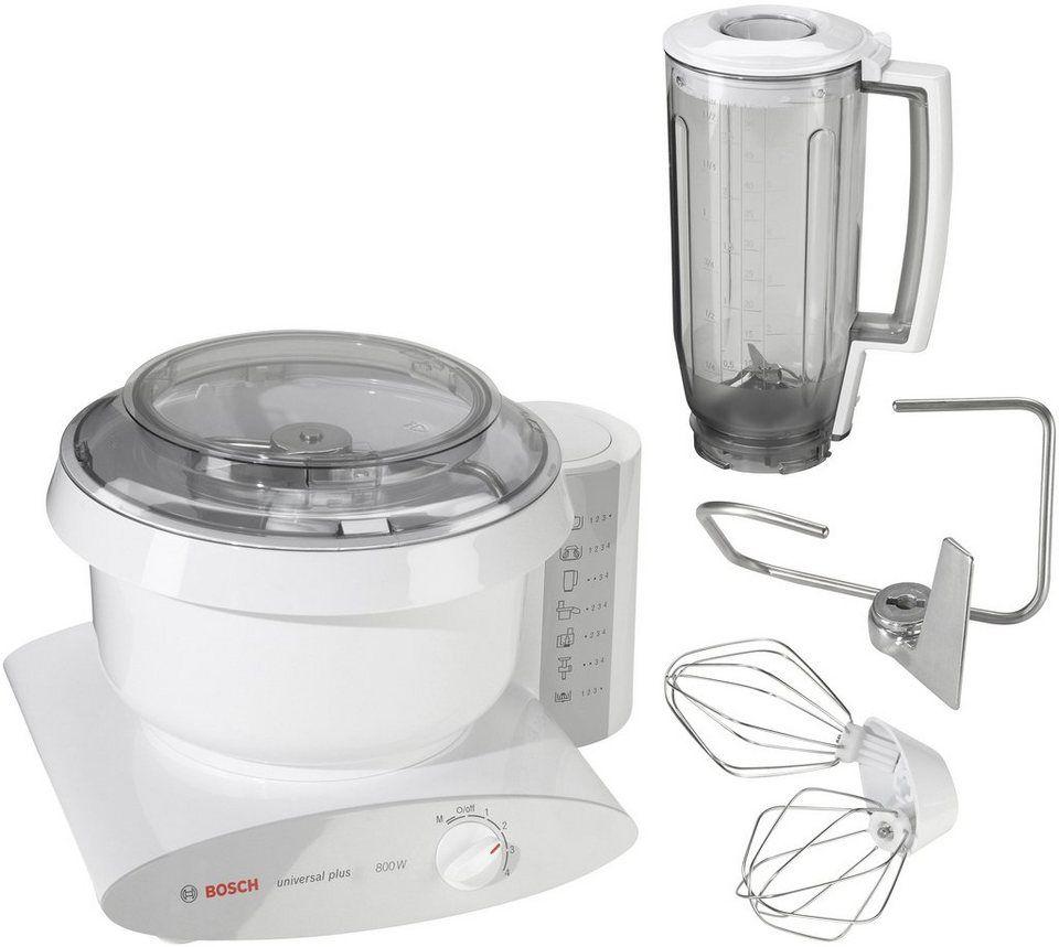 Bosch Küchenmaschine Universal Plus MUM6 N11, 800 Watt, 6