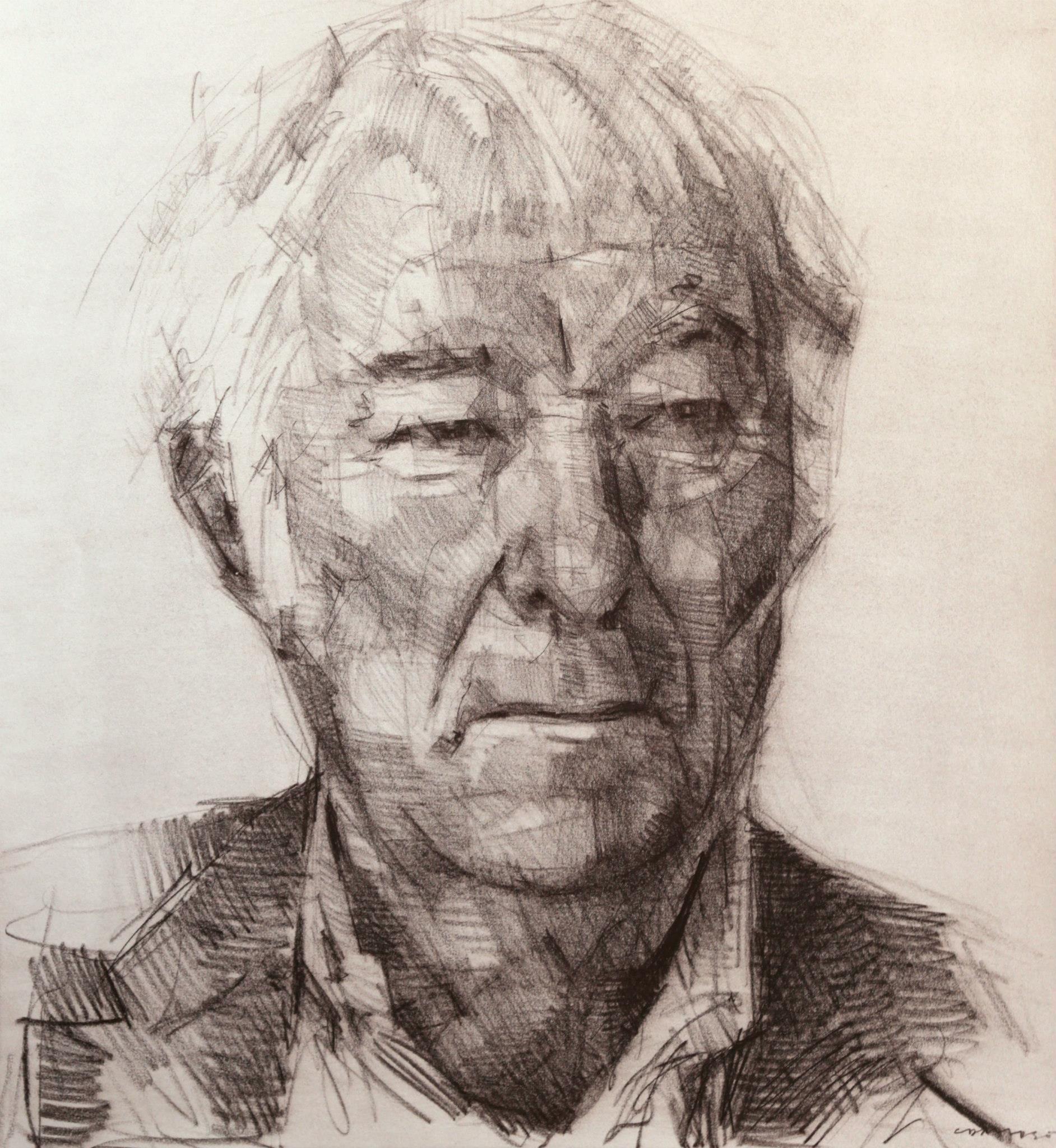 seamus heaney by Colin Davidson | Dibujos retratos, Retratos y ...