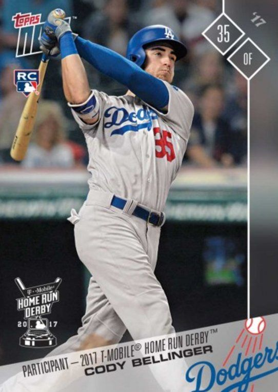 2017 Topps Now Hrd 3 Cody Bellinger Home Run Derby