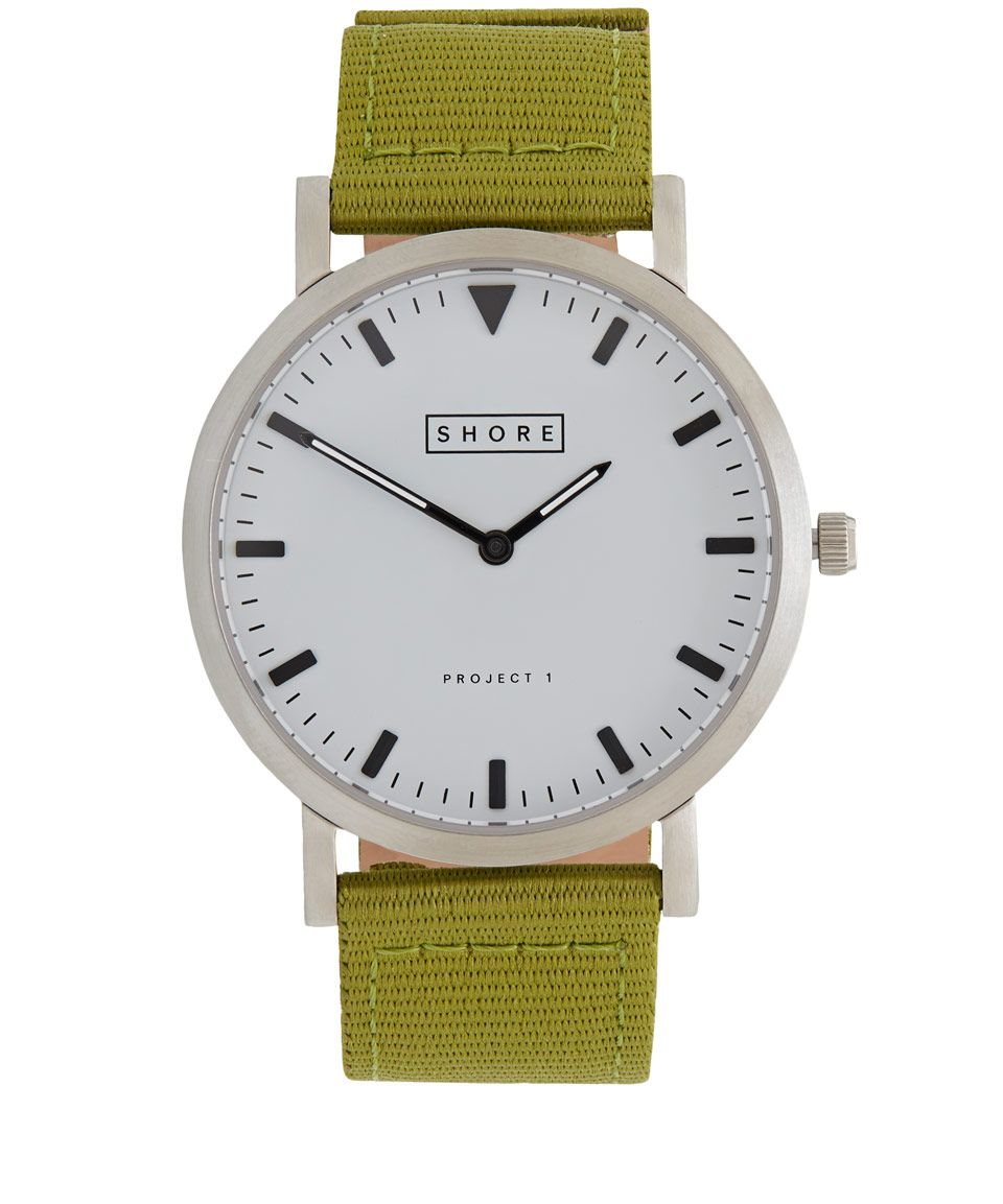 Shore Projects Khaki Poole Watch | Accessories | Liberty.co.uk