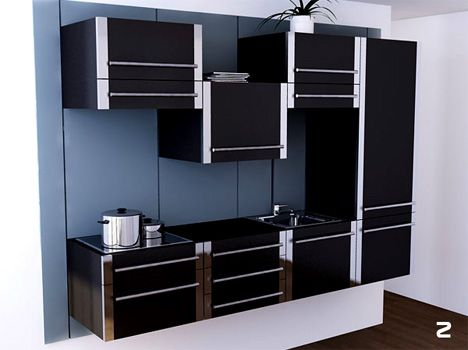 We Have Earlier Told You About A Mini Kitchen Thatu0027s Perfect For Small  Spaces. It Is More A Need Of Tiny Apartments To Organize The Small Space  For Better ...