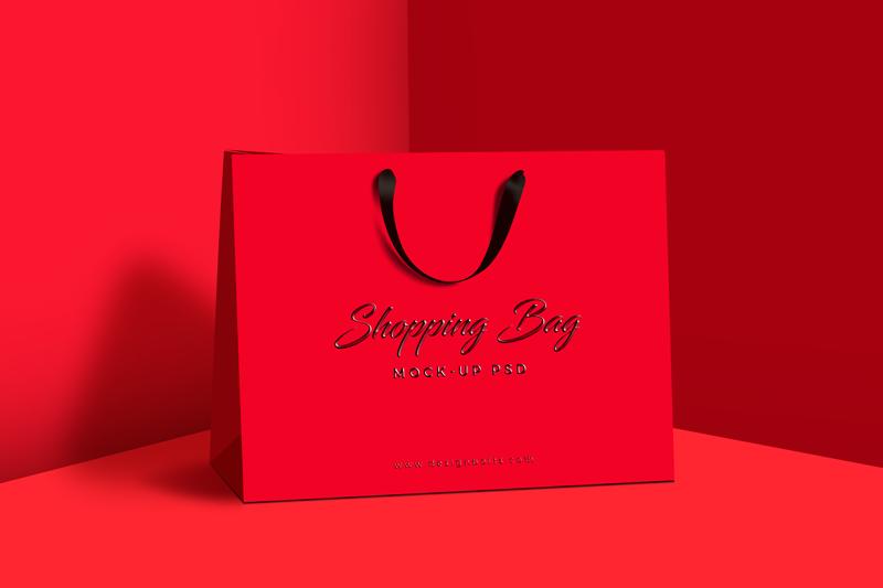 Download Free Premium Shopping Bag Mock Up Psd File Bag Mockup Photoshop Mockup Free Free Shopping