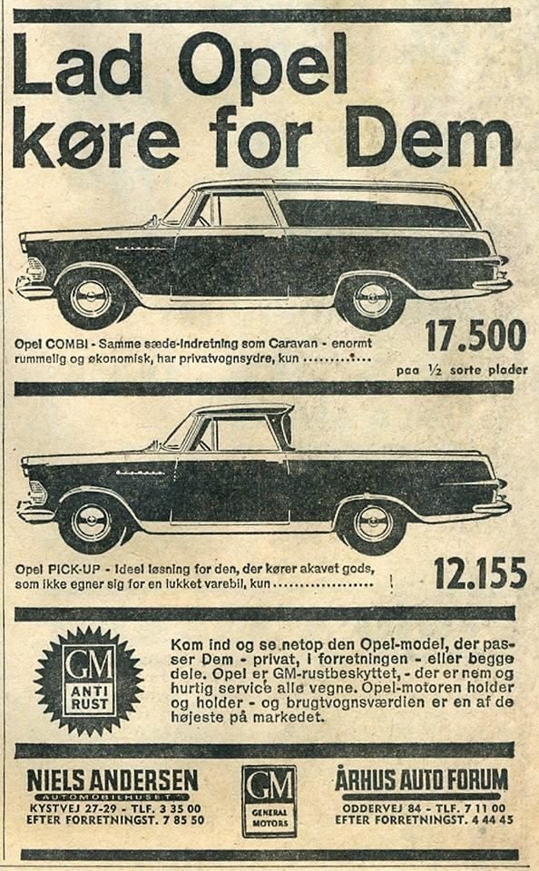 opel rekord p2 pick-up   opel   autos, oldtimer und fahrzeuge