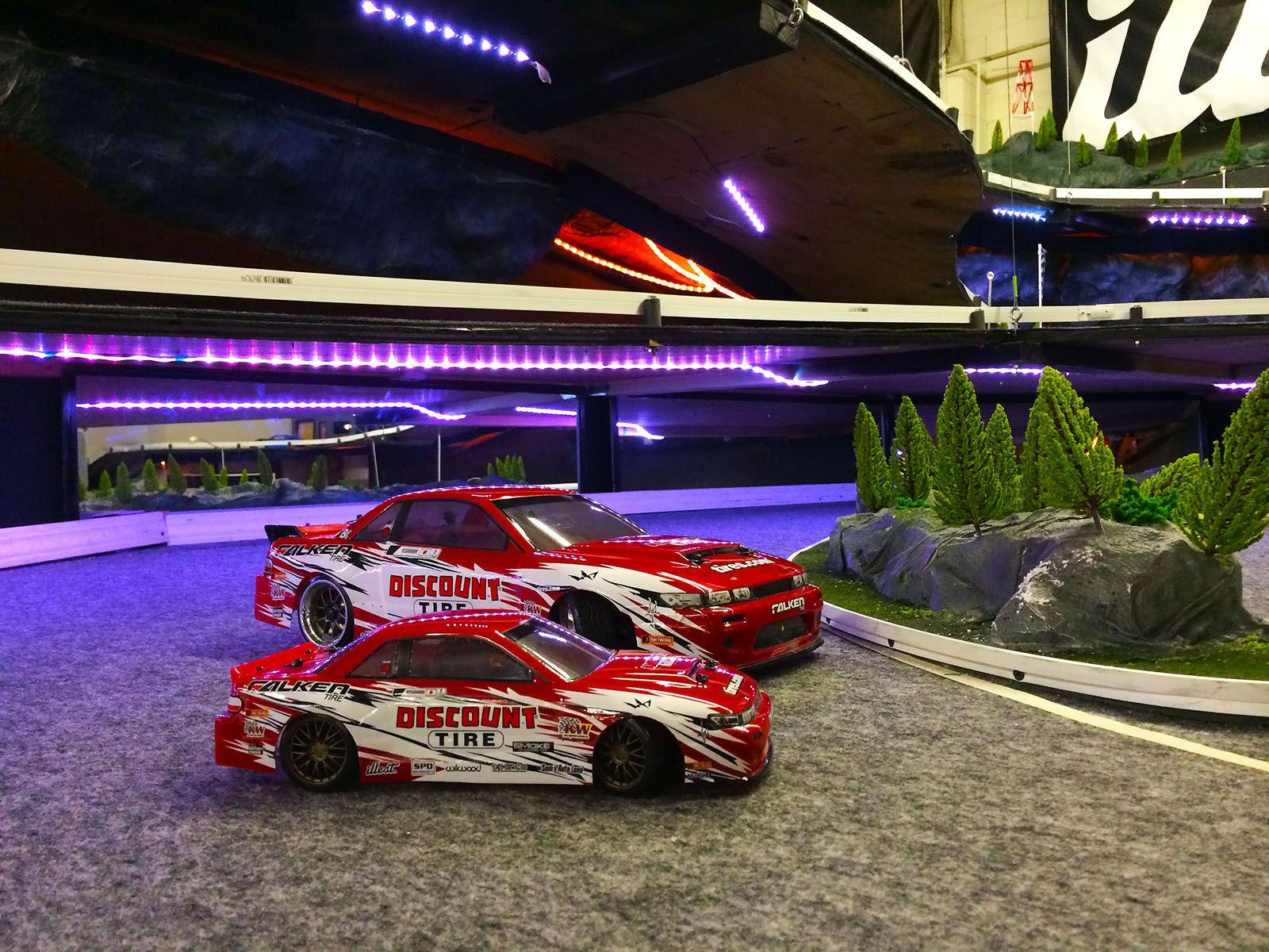 HPI Racing Dai Yoshihara Discount Tire Falken Tire NIssan S13 1 10th