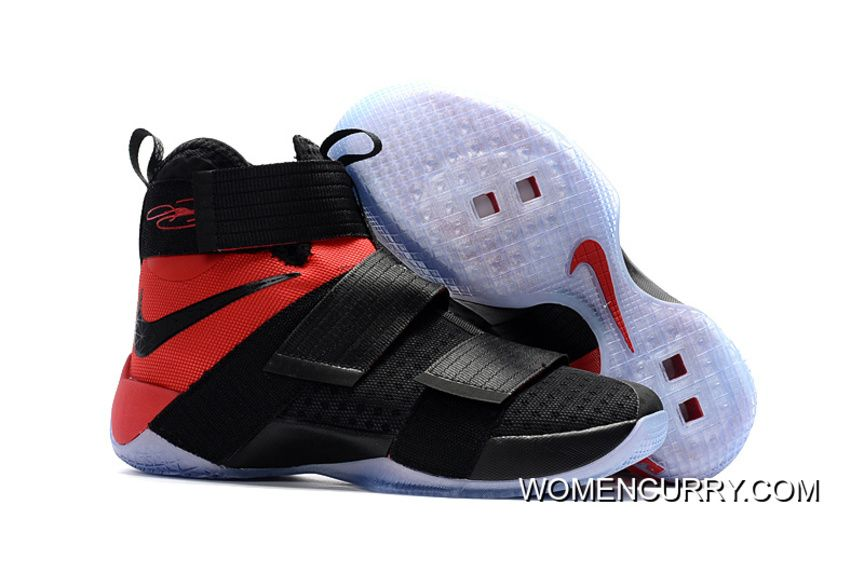 "bdafe19e6234 Team Red"" Nike LeBron Soldier 10 SFG Black Red in 2019"