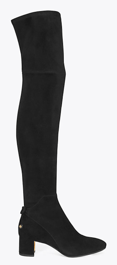 47ae13e5c2b9 Tory Burch Laila Suede Over-the-knee Boot