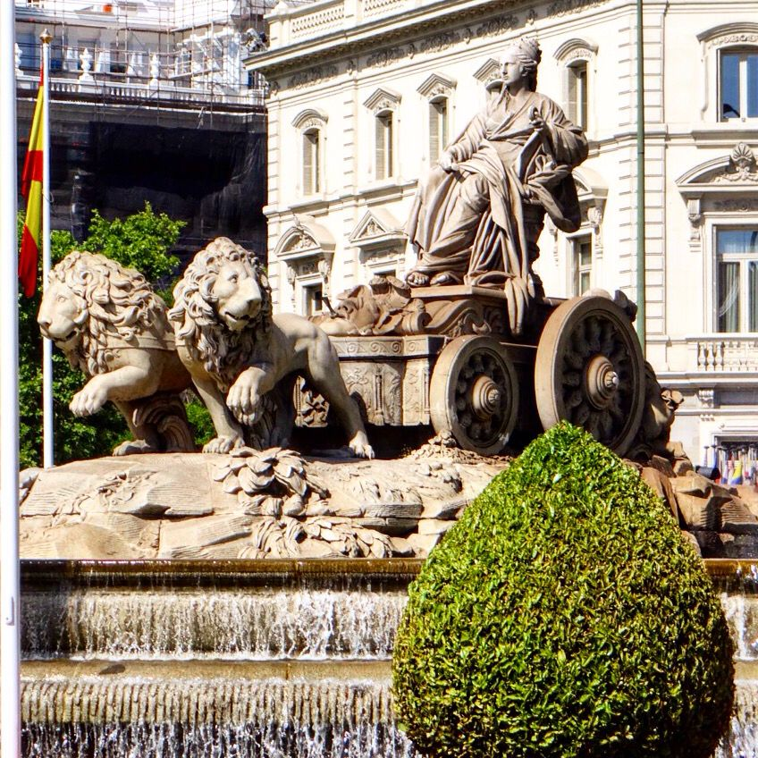 Plaza Cibeles. Madrid, España. Spain