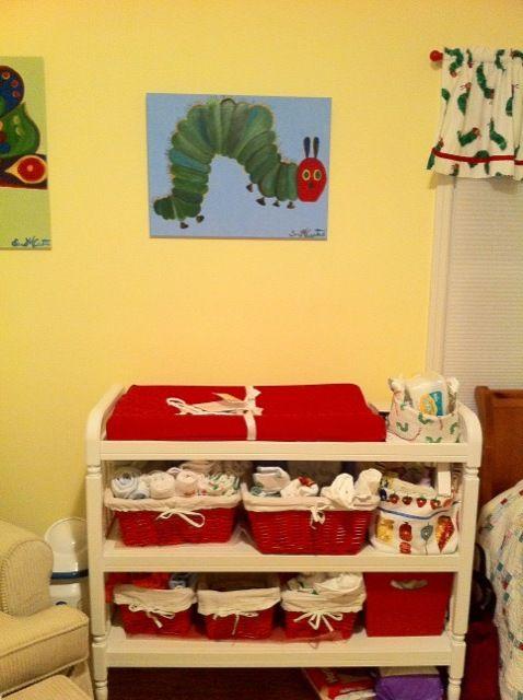 Very Hungry Caterpillar Nursery Great Organizer Ideas And