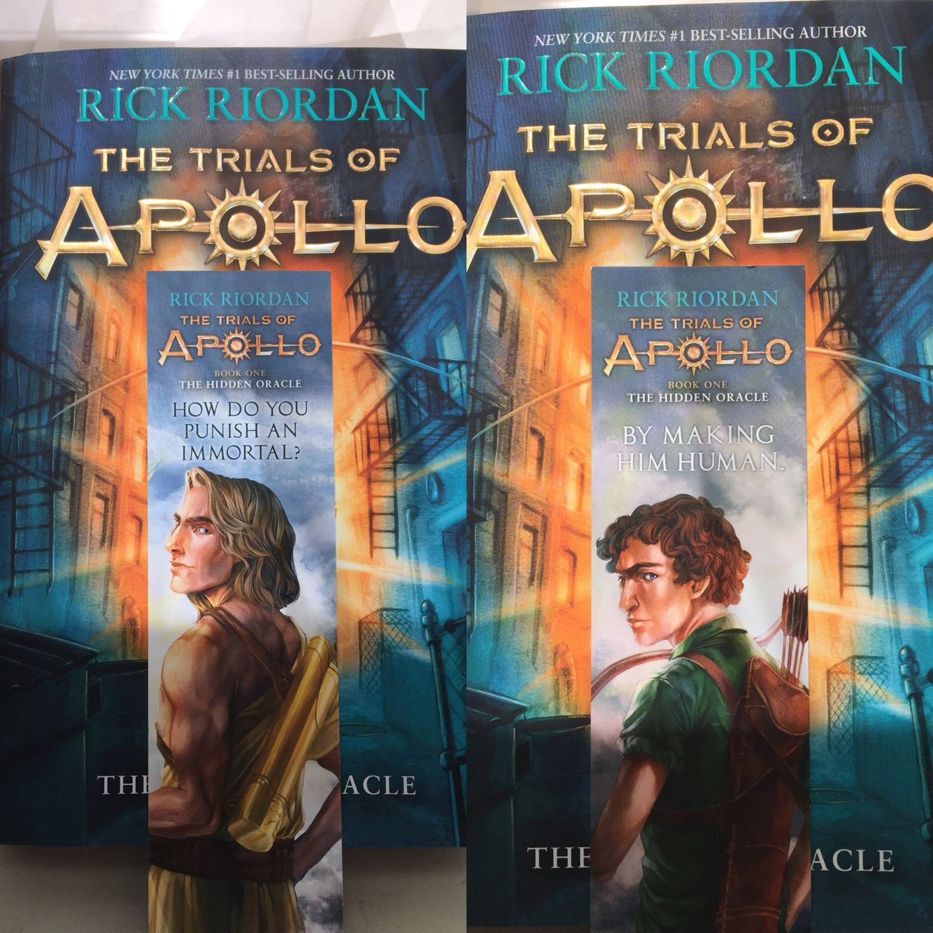 I got the The Trials of Apollo: The Hidden Oracle at Walmart over ...