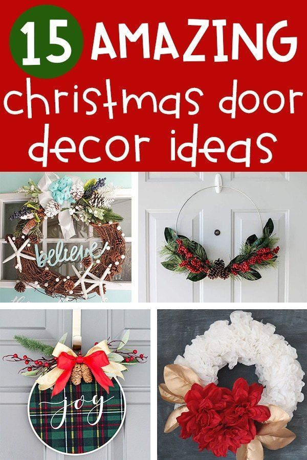 Front door christmas decorations ideas amazing to decorate your for the holidays simple diy wreaths and more also crafts rh pinterest
