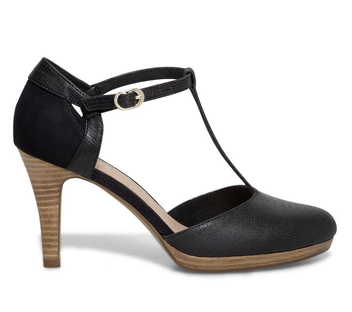 escarpin salom noir escarpins chaussures femme style envie pinterest chaussures. Black Bedroom Furniture Sets. Home Design Ideas