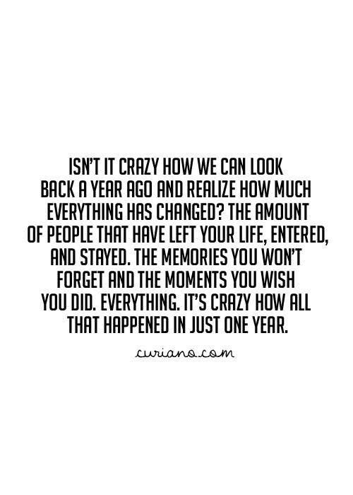 This is very true in my life the last few years.