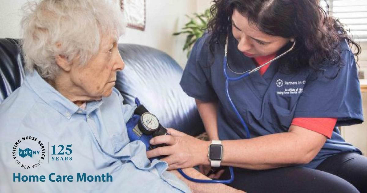 Personalized senior home care from a private care nurse