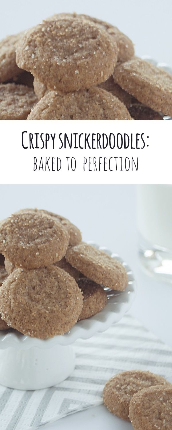Delicious cinnamon-sugar flavor baked to a crispy perfection. Made with simple and healthy ingredients.