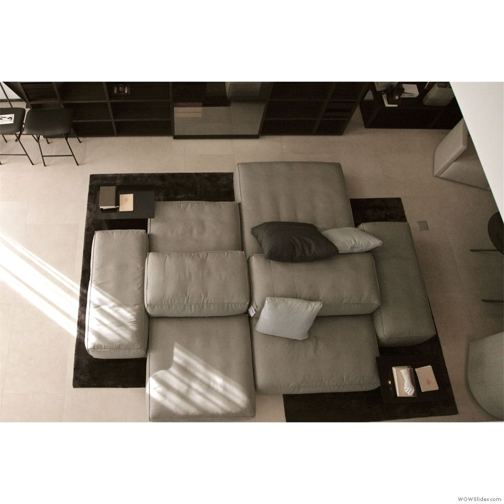 Extrasoft seating system by piero lissoni for living for Divani design dwg