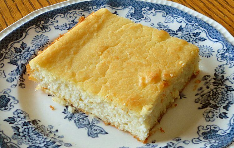 Coconut Cake Recipe Keto: MAGICALLY MOIST ALMOND CAKE. Butter, Splenda, Eggs, Cream
