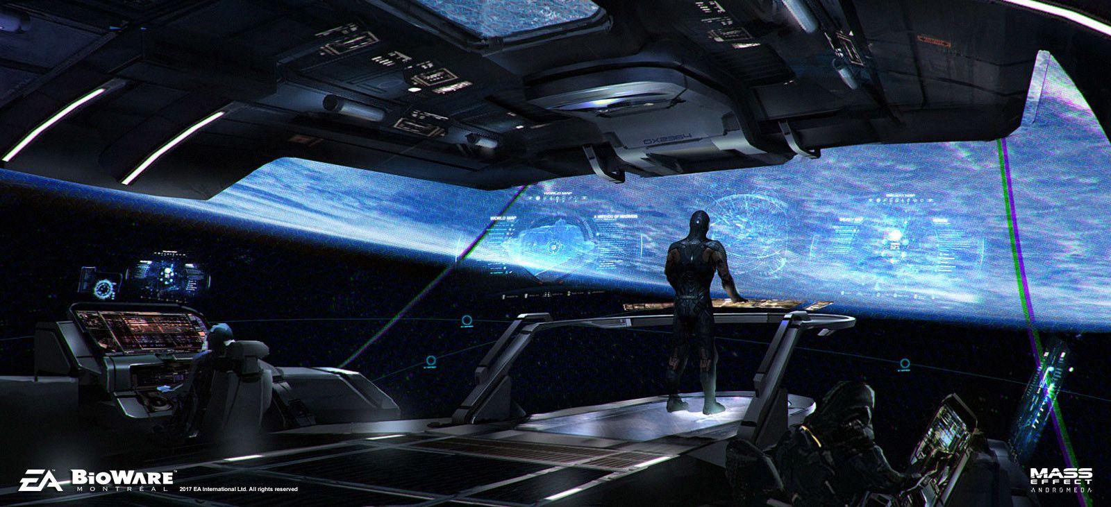 Mass Effect Andromeda Tempest Bridge Brian Sum Mass Effect
