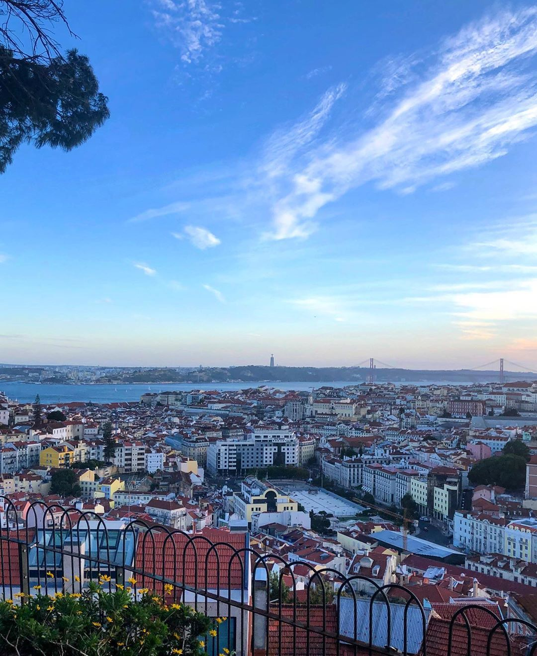 Miradouro Da Senhora Do Monte The Way Up Could Seem Hard But The View Is Totally Worth It Best Spot To See Lisbon From The Top Lisbon Views Instagram