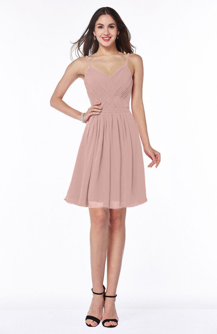 Nice Bridesmaid Dresses Dusty Rose Bridesmaid Dress - Sexy A-line ...