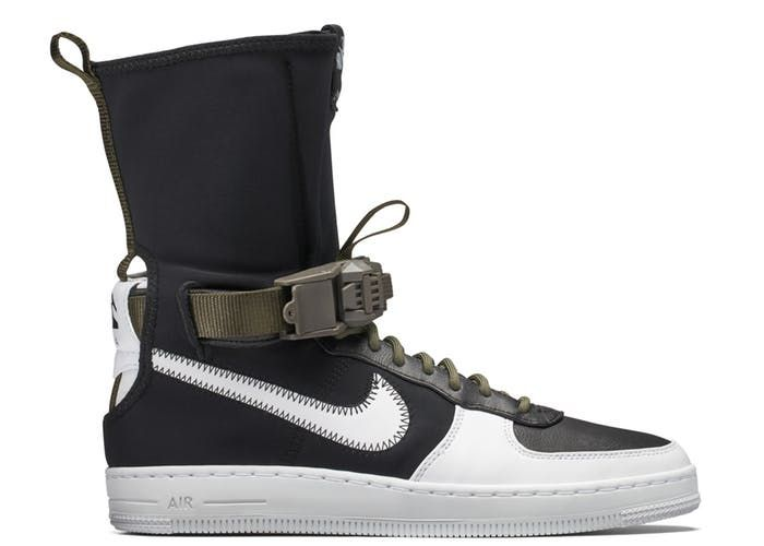 Buy and sell authentic Nike shoes on StockX including the Air Force 1  Downtown Acronym Black White and thousands of other sneakers with price  data and ... c2bb693a0