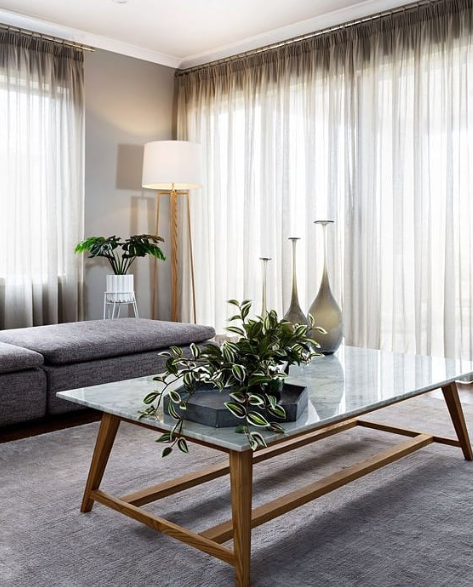Use Sheer Curtains And Breathable Fabrics Around This Summer To