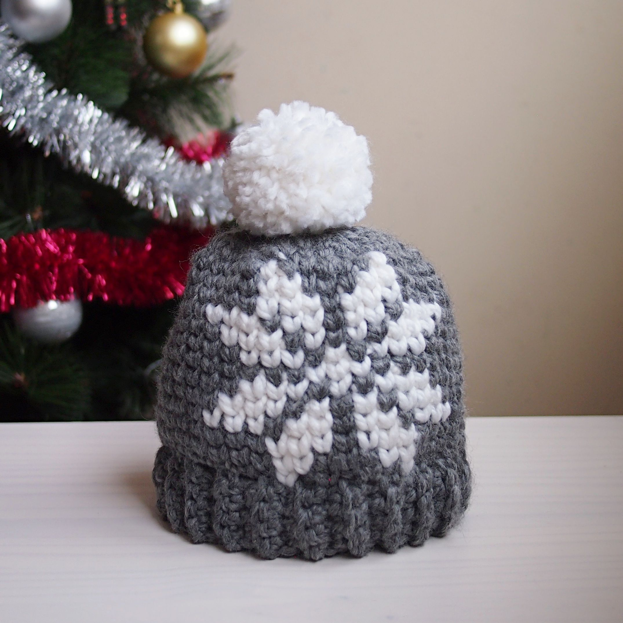 Nordic snowflake hat CAL | Maggie\'s Crochet - All About Crocheting ...