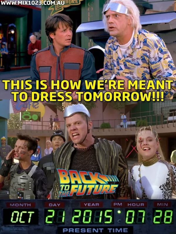 Back to the Future | Most Popular Post of the Day in the Funny Technology Community on Google+ Via Sean Patterson  #throwback_thursday #tbt