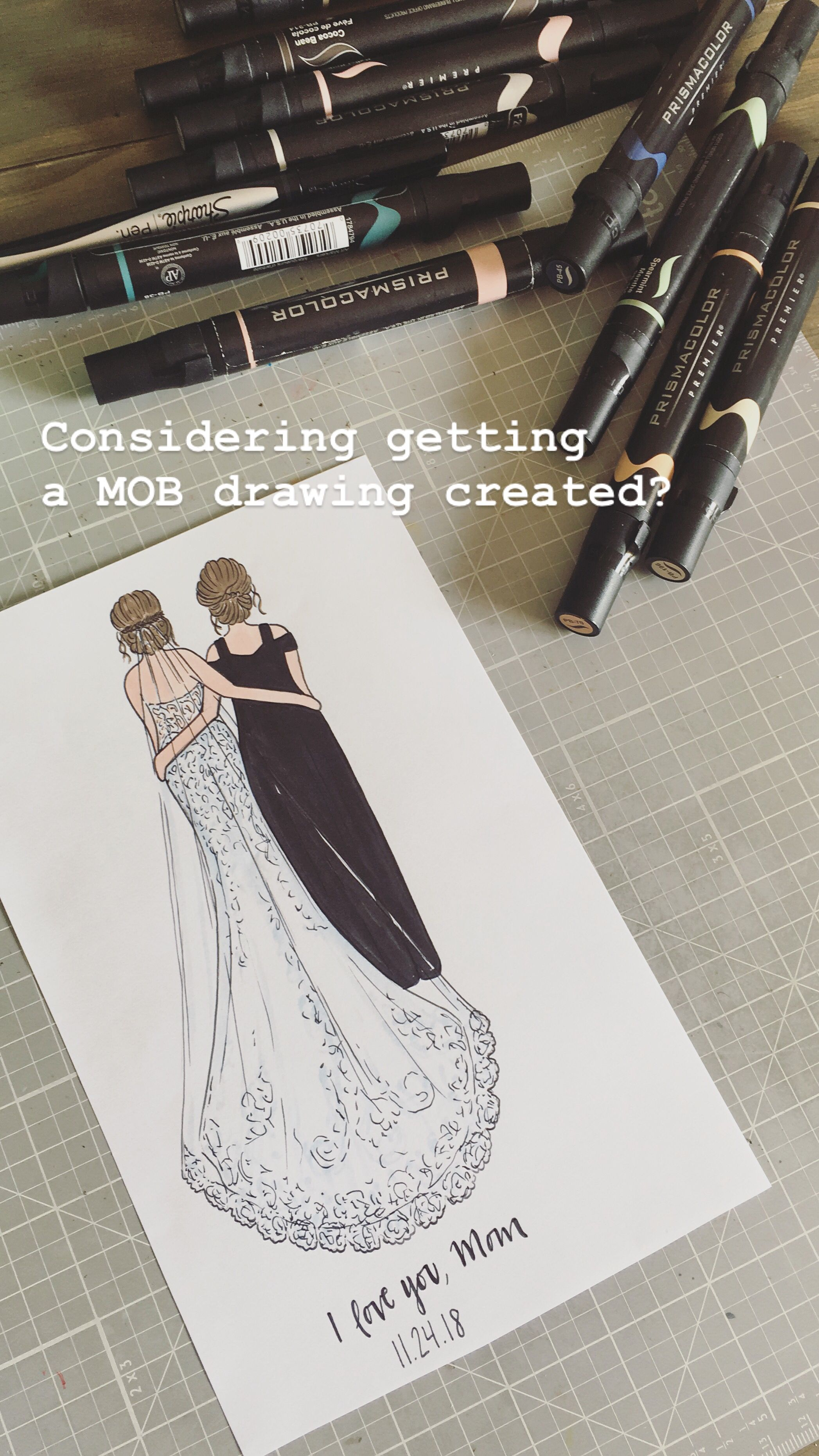 Custom Mother Of Bride Mother Of Groom Grandmother Of The Bride Drawing Print Personalized Day Of Or Rehearsal Dinner Wedding Gift In 2020 Mother Of The Bride Mother Of,Casual Wedding Dresses For Courthouse