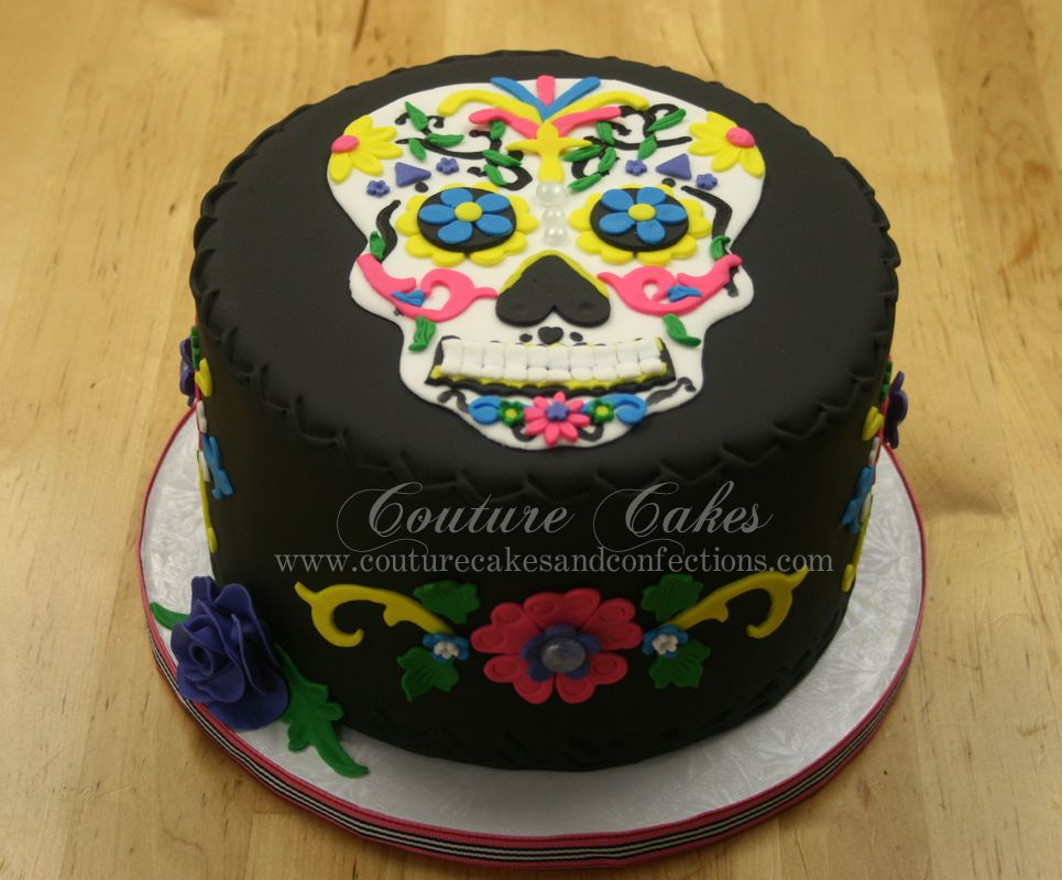 day of the dead cake day of the dead birthday cake birthday cakes 3323