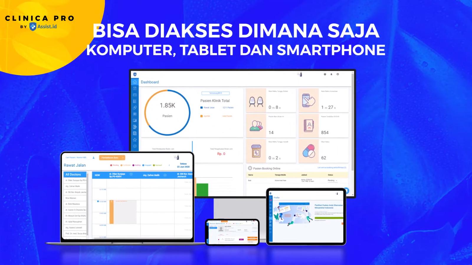Sistem Aplikasi Assist Id Bisa Diakses Dimana Saja Aplikasi Coding Tablet