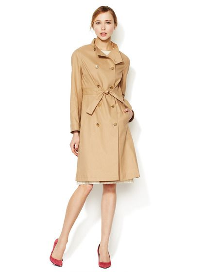 Double Breasted Cotton Trench by Valentino at Gilt