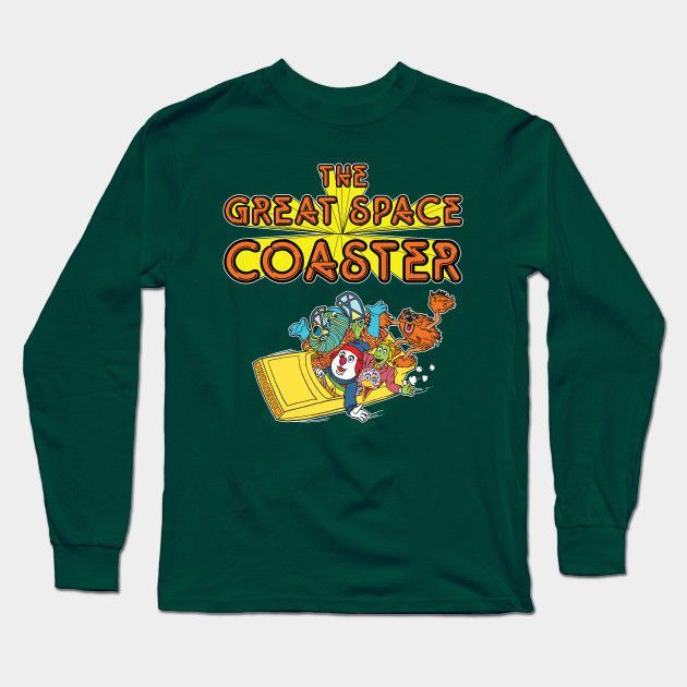 The Great Space Coaster Long Sleeve T-Shirt