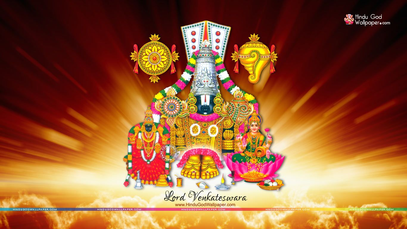 Lord Lakshmi Venkateswara Wallpapers Venkateswara Tirupati In 2019