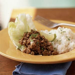 Thai Style Ground Beef Recipe Ground Beef Recipes Healthy Healthy Ground Beef Ground Beef Recipes