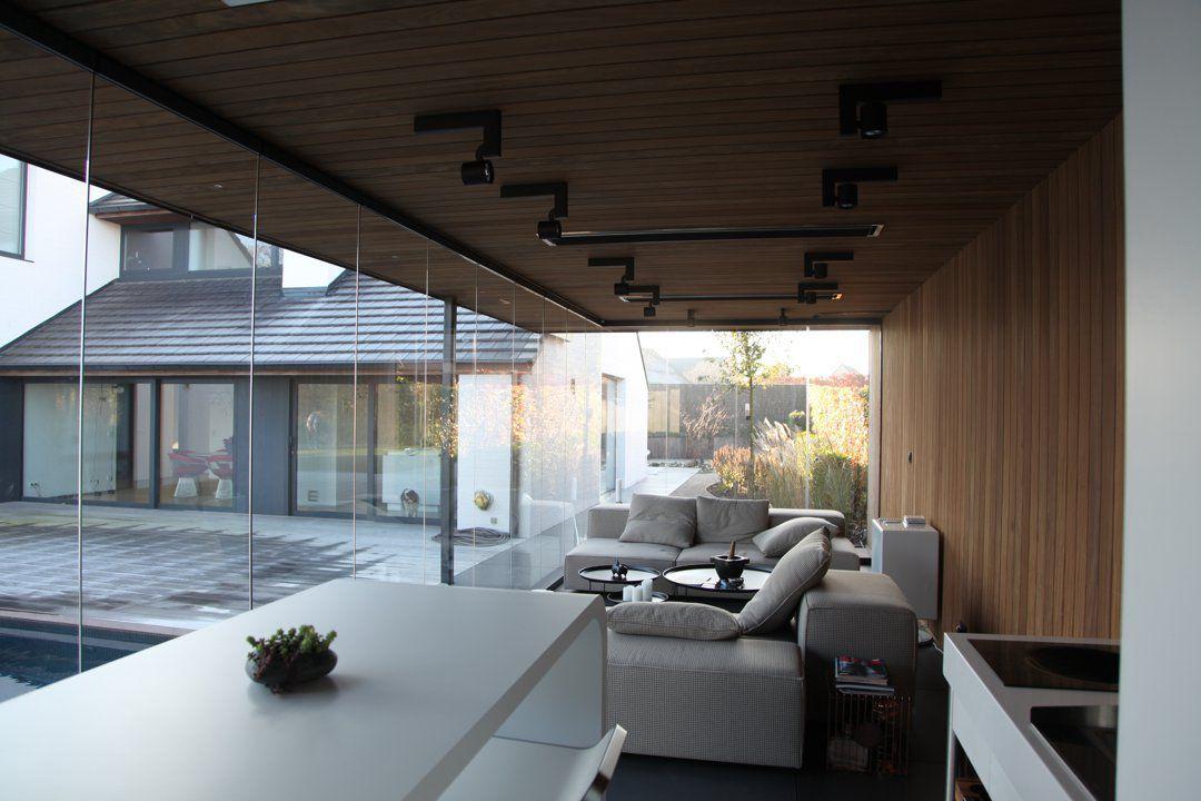Poolhouse met lounge tuin pinterest tropisch ruimtes en delen