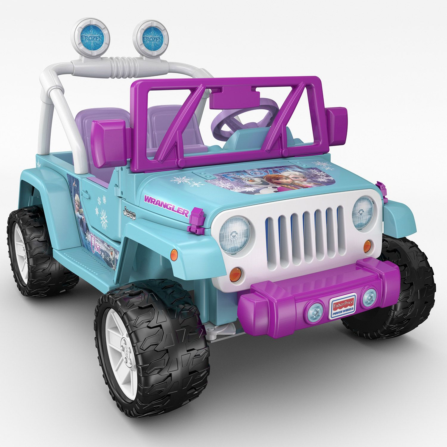 Disney S Frozen Power Wheels Jeep Wrangler By Fisher Price Power Wheels Power Wheels Jeep Ride On Toys