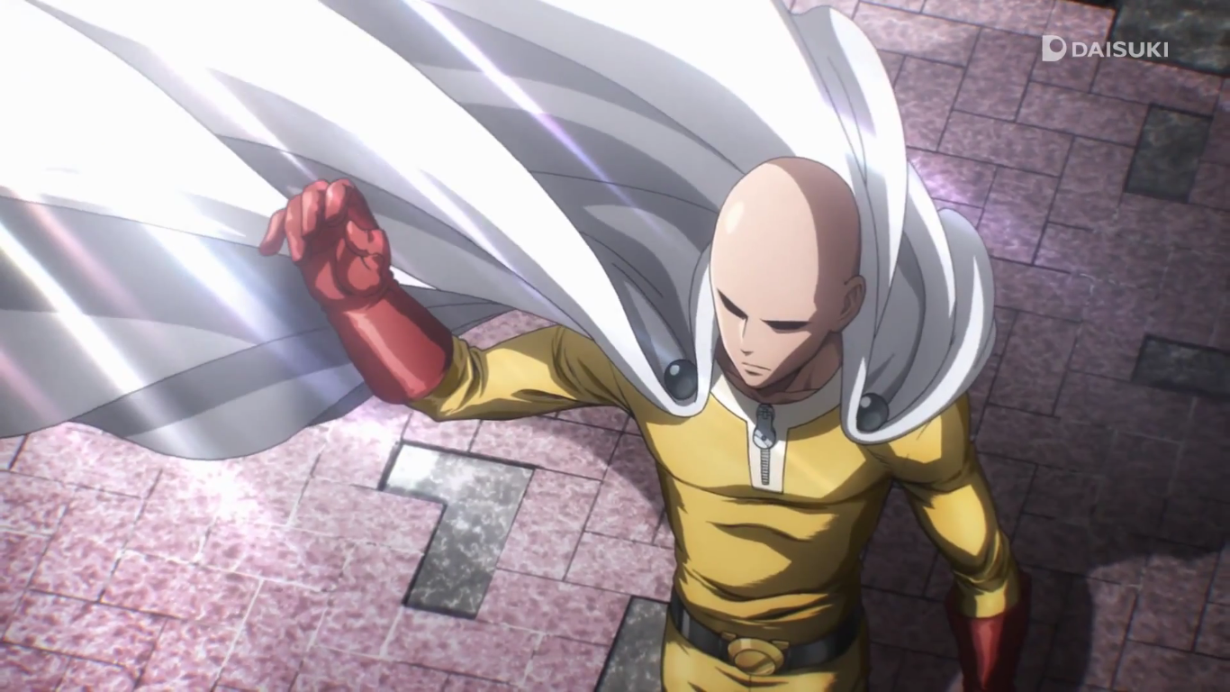 one punch man episode 1 | OPM SCREENSHOTS | One punch man anime, One
