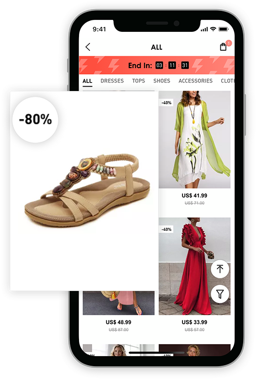 Köp Klänningar, Online Affär, Dammode Klänningar på Rea